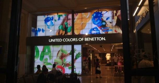 Italia: Benetton, il futuro in vetrina