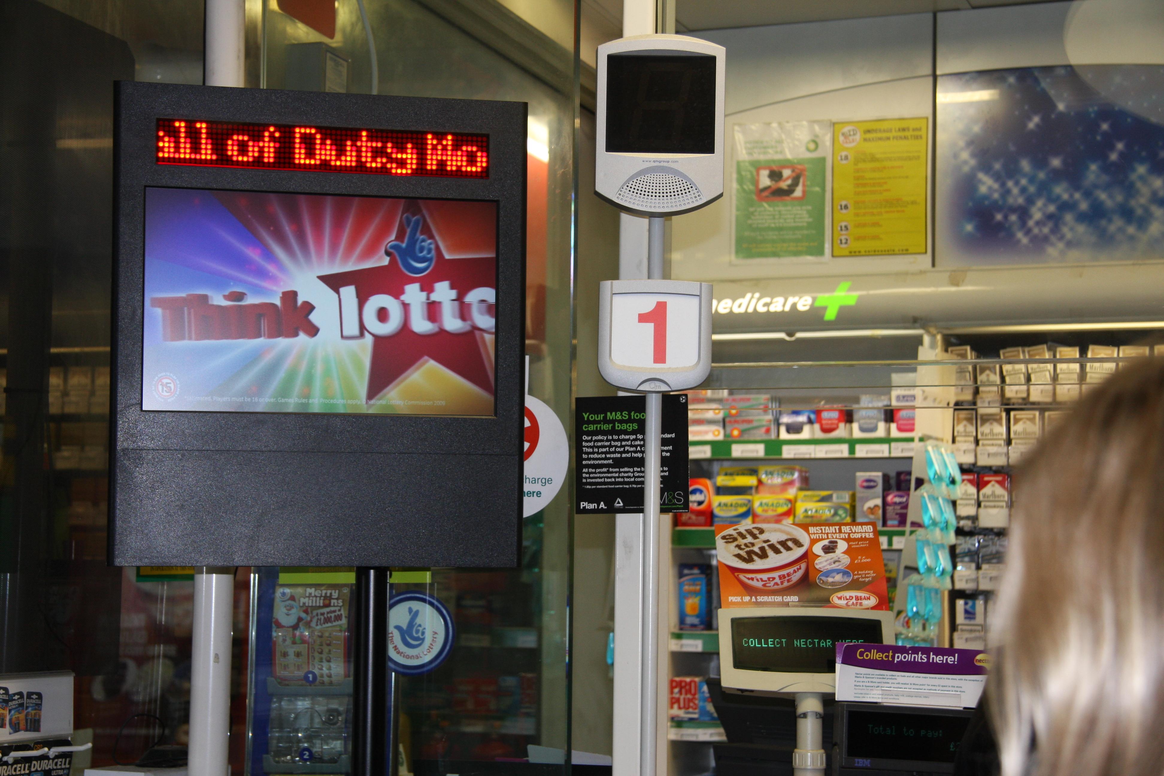 Digital Signage per convenience store e minimarket