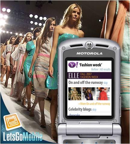 New York: touch screen alla settimana della moda