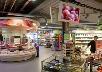 Supermarket Tv in Olanda