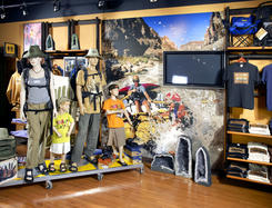 Digital Signage nei flagship store di National Geographic