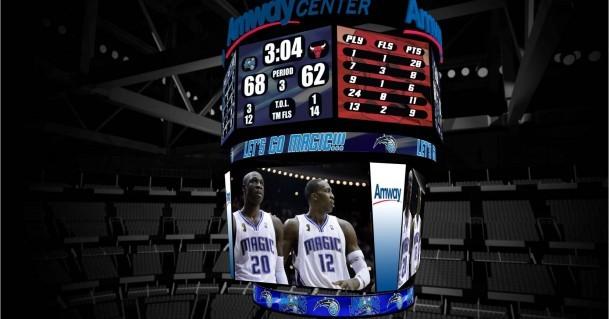 L'Amway Center degli Orlando Magic