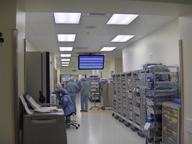 USA: schermi digitali per l'Ospedale St Joseph