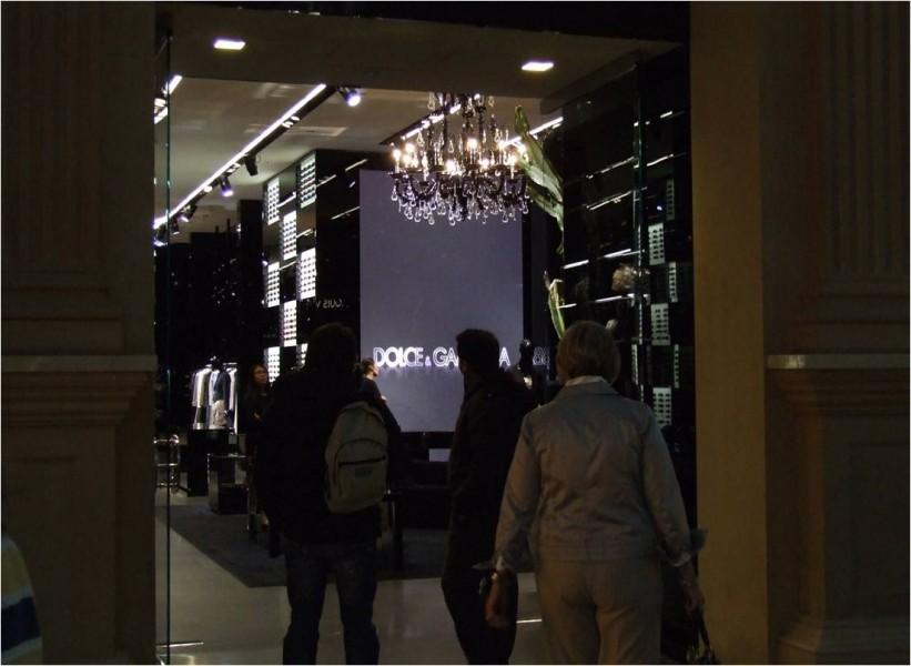 Las Vegas: tecnologia digitale per Dolce&Gabbana