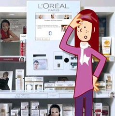 """Beauty Bars"" l'Oréal all'interno dei supermercati Carrefour"