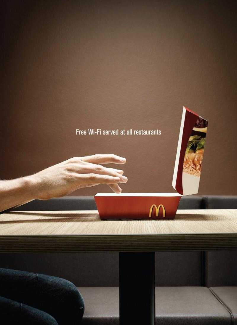 Italia:connessione Wi-Fi gratuita in ogni ristorante McDonald's
