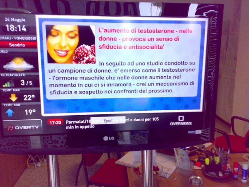 Italia: un'agenzia immobiliare di Olgiate sceglie il Digital signage OverTV