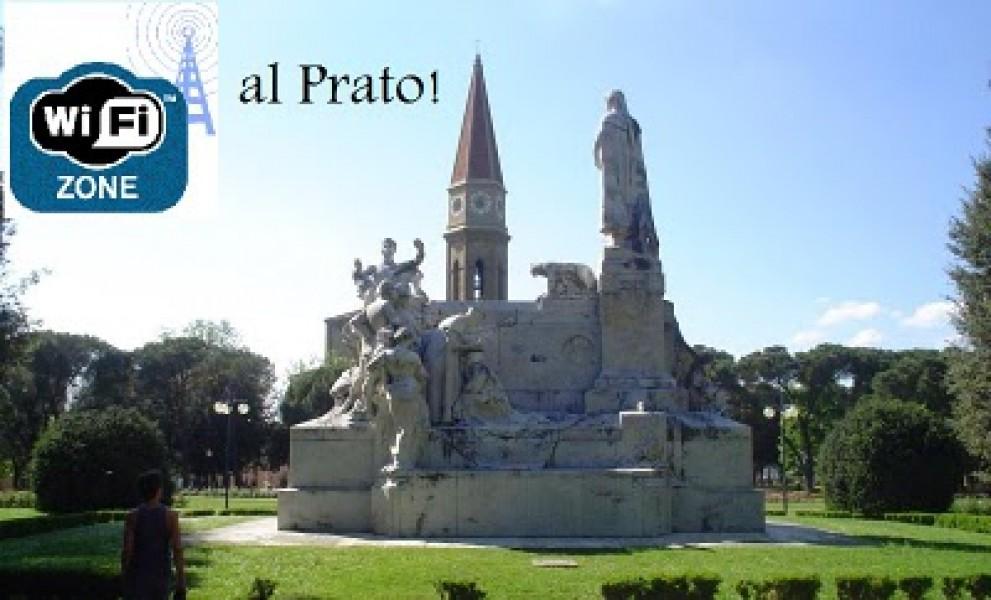 Hotspot Wi-Fi gratuiti al parco del Prato di Arezzo