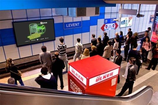 Turchia: network OutdoorTv per la metro di Istanbul