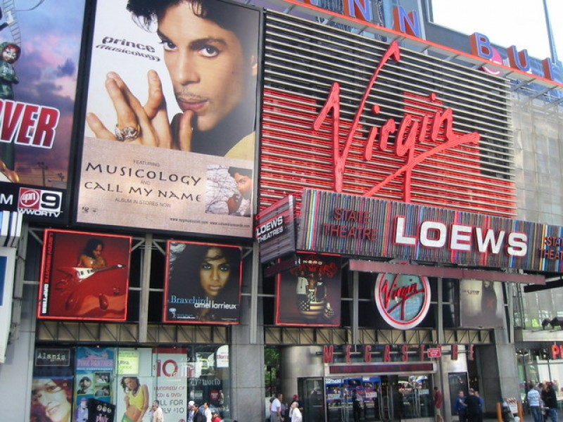 USA: Il digital signage per i Virgin Megastore