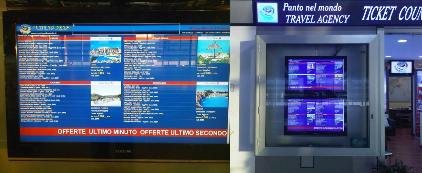 Italia: Agenzie viaggi, il Digital Signage spinge le vendite