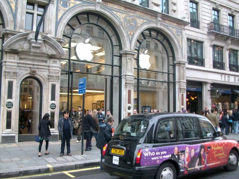 Reno Unito: Apple Store di Regent Street