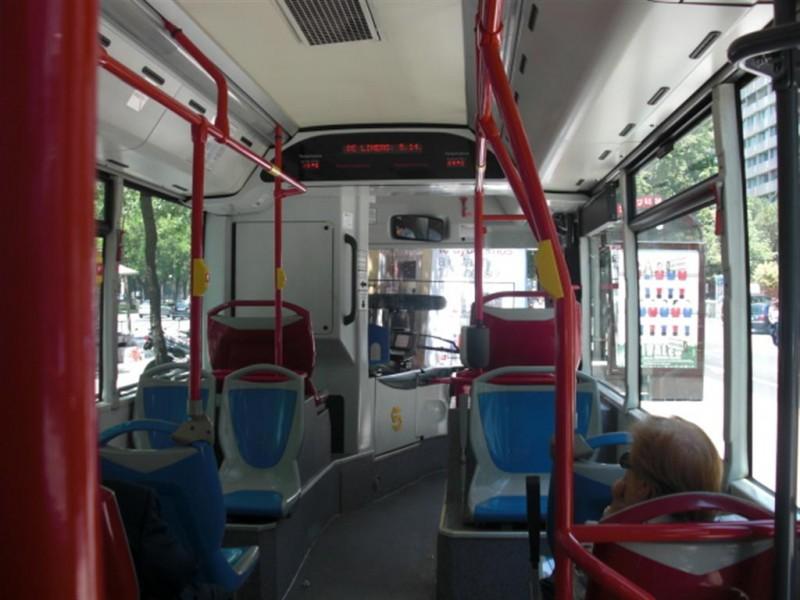 Madrid, via al servizio Wifi gratuito sui bus