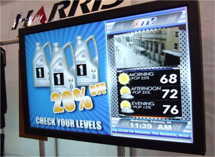 USA: Gas StationTV presso i distributori di benzina