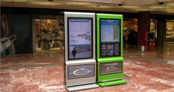 Italia: sistema OverTV In-Door all'aeroporto Marconi di Bologna