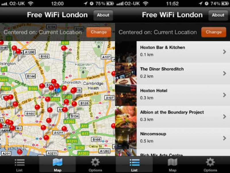 "Regno Unito: ""Free Wifi London"""