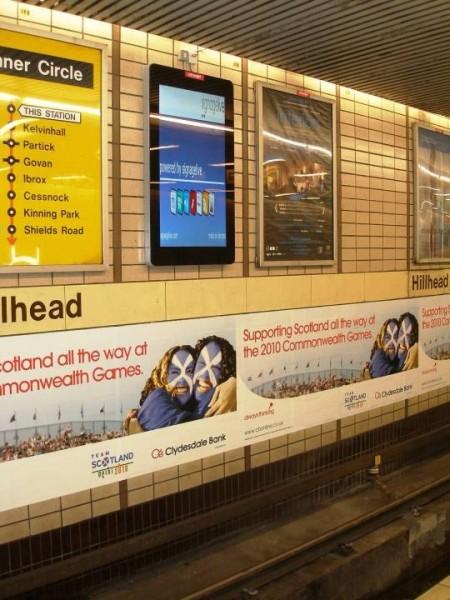 Scozia: primi formati digitali nella metro di Glasgow