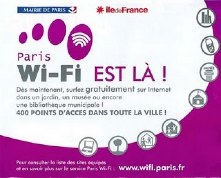 Paris Wi-Fi ossia un'intera città wireless