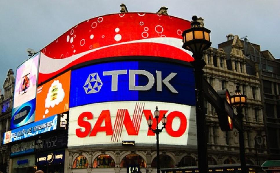 Regno Unito: maxi LED a Piccadilly Circus