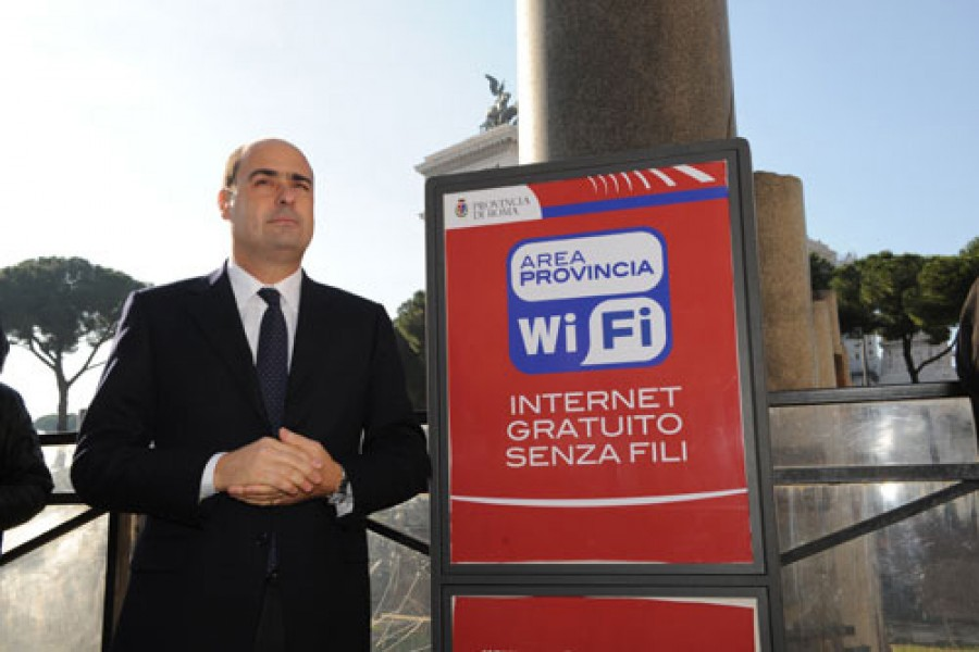 Provincia Wi-Fi:10 nuovi hot spot all'auditorium di Roma