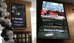USA: schermo da 85 pollici per Raymour & Flaningan