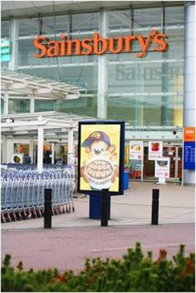 Regno Unito: Digital Signage per Sainsburry's