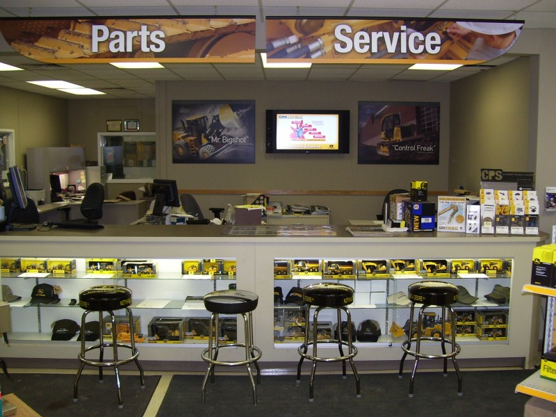 Canada: Digital Signage InStore per Ontrac Services