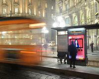 Italia: 10 pensiline con showscreen interattivo