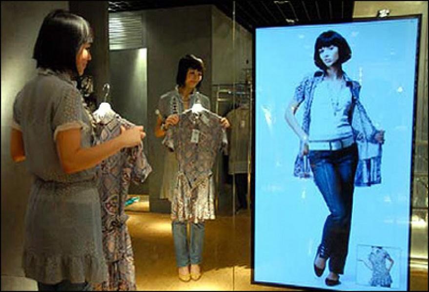 Il retail propone il camerino virtuale