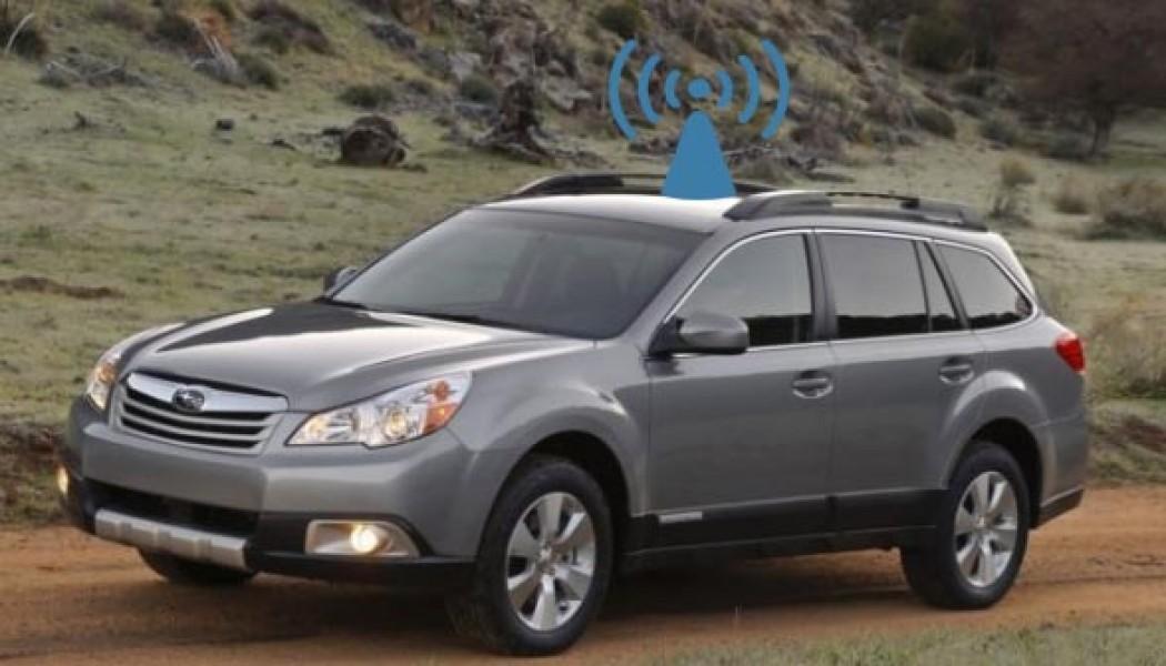 Subaru: debutta il Wi-Fi in auto