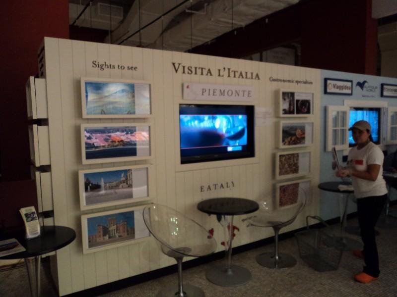 New York: display digitali per Eataly