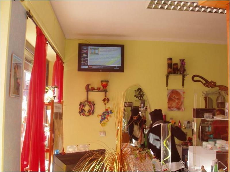 Digital Signage OverTv per un parrucchiere a Ploaghe