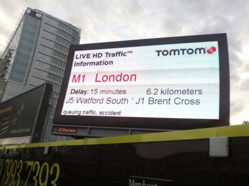 Regno Unito: TomTom informa gli automobilisti in tempo reale