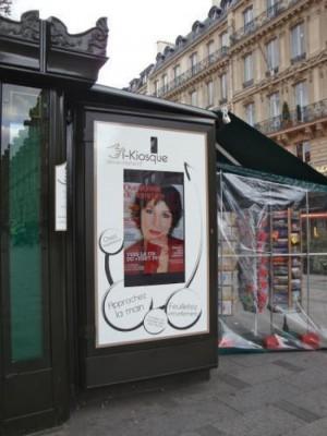 Parigi: I-Kiosque, l'edicola interattiva
