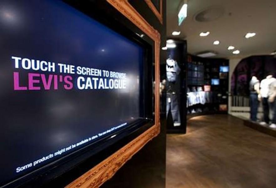 Berlino: Digital experience InStore per Levi's