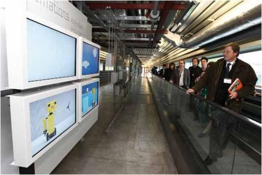 """Belgio: 90 screen al museo """"Scientific Adventures"""""""