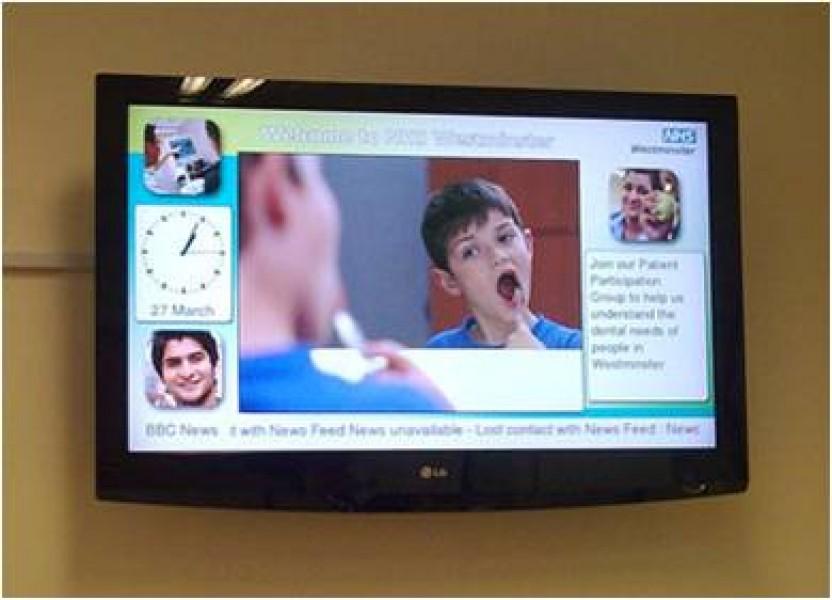Regno Unito: Westminster Primary Care Trust e il Digital Signage