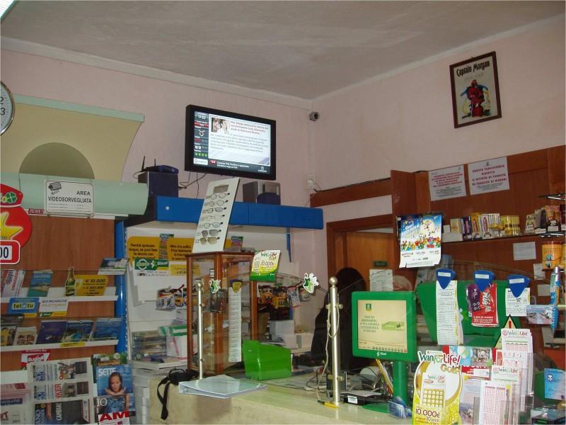 Monitor OverTv per tabaccheria ad Arzachena