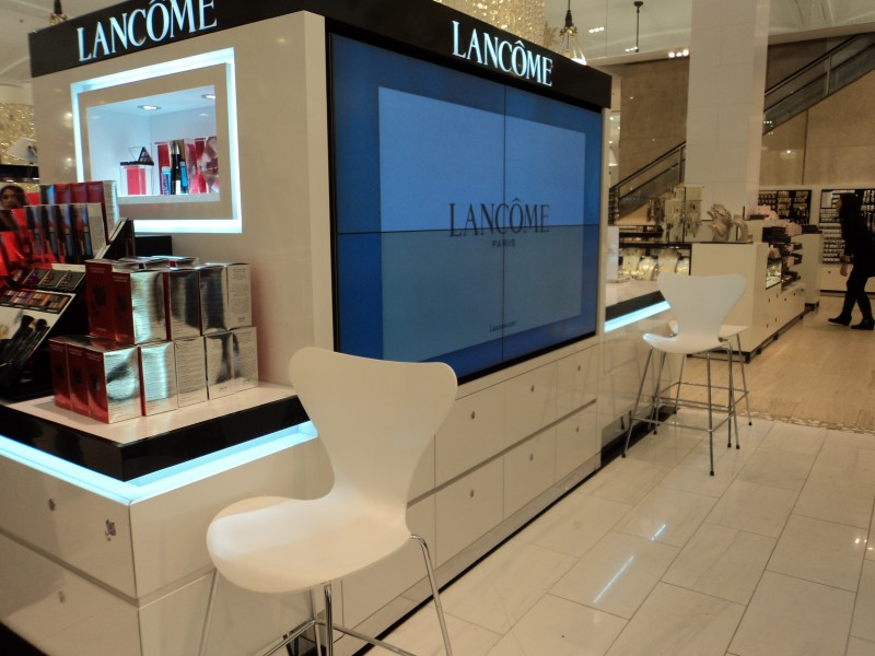New York: il Digital Signage di Bloomingdale's