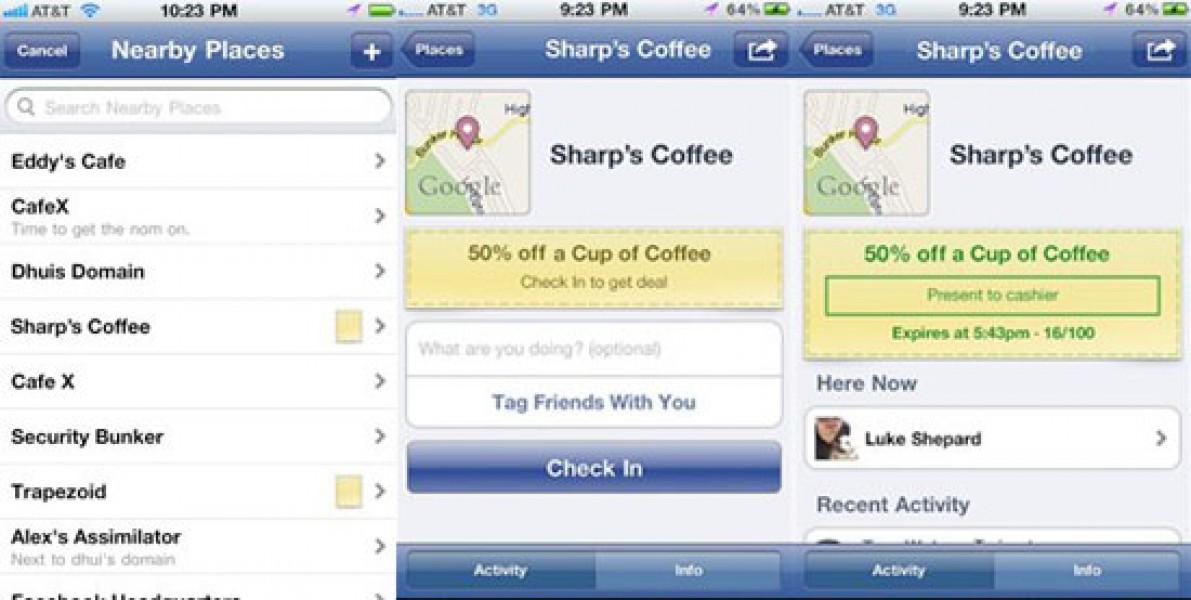 Nasce Facebook Deals. La promozione è geo-referenziata