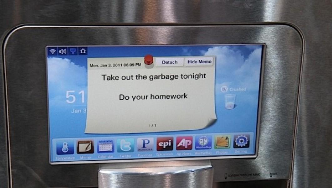 Samsung rf4289 il frigorifero wi fi del futuro for Nuovo frigo samsung