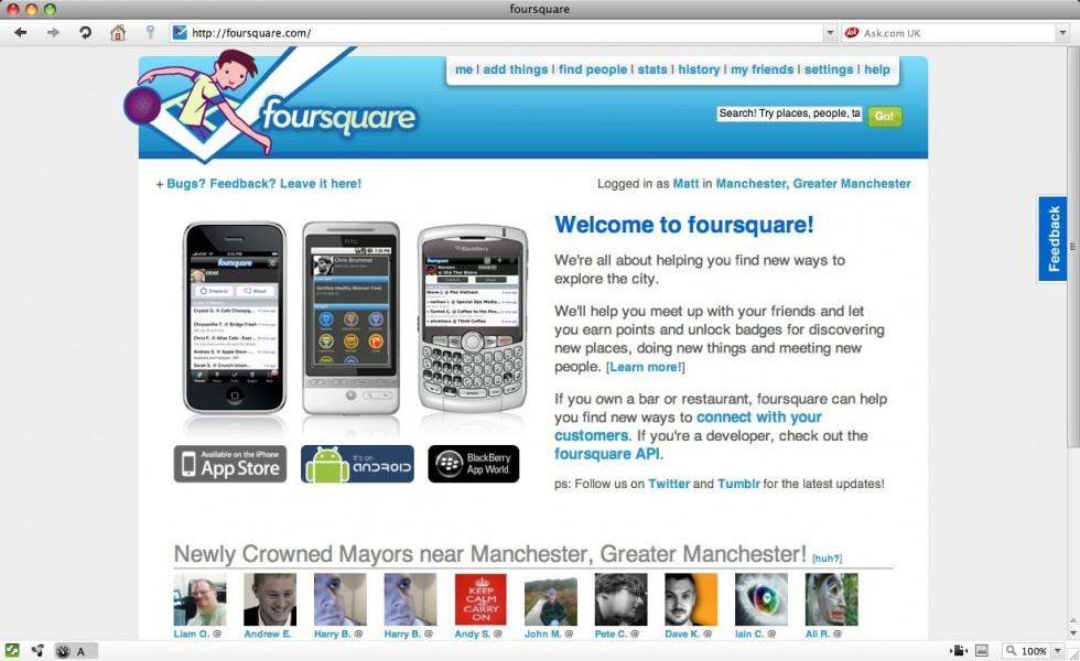 Foursquare punta ai commercianti