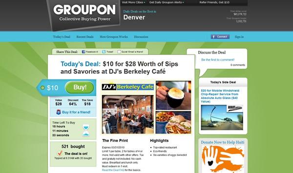 Più clienti con Groupon