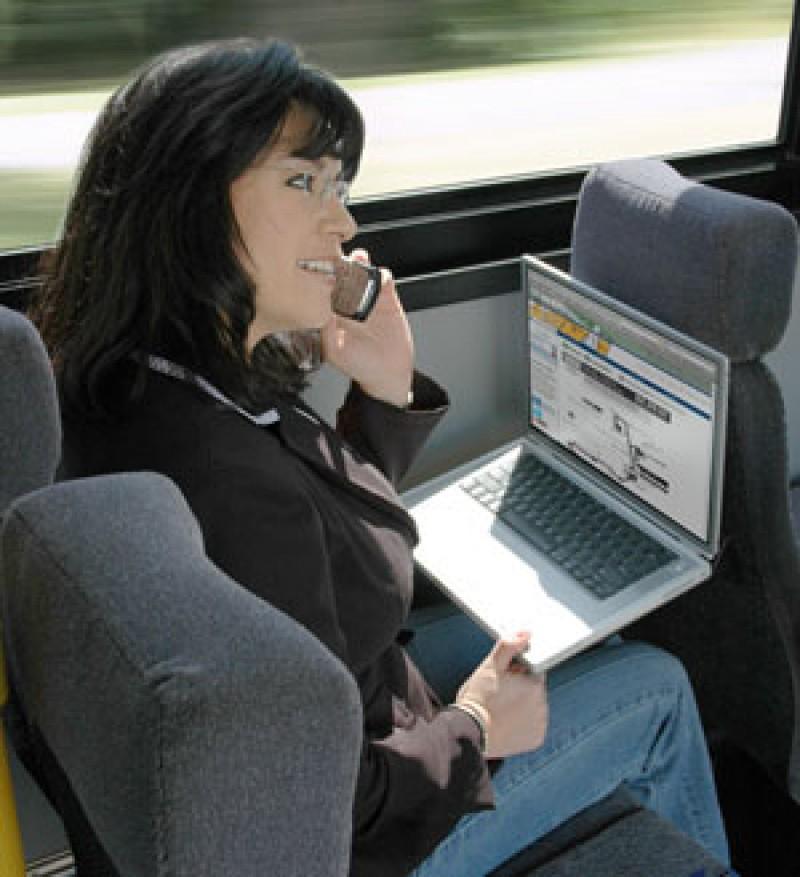 Il Wi-Fi sale sull'autobus