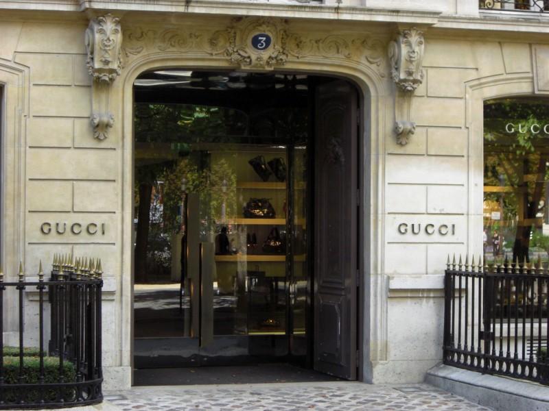 Gucci, nuova apertura per la celebre boutique di Parigi