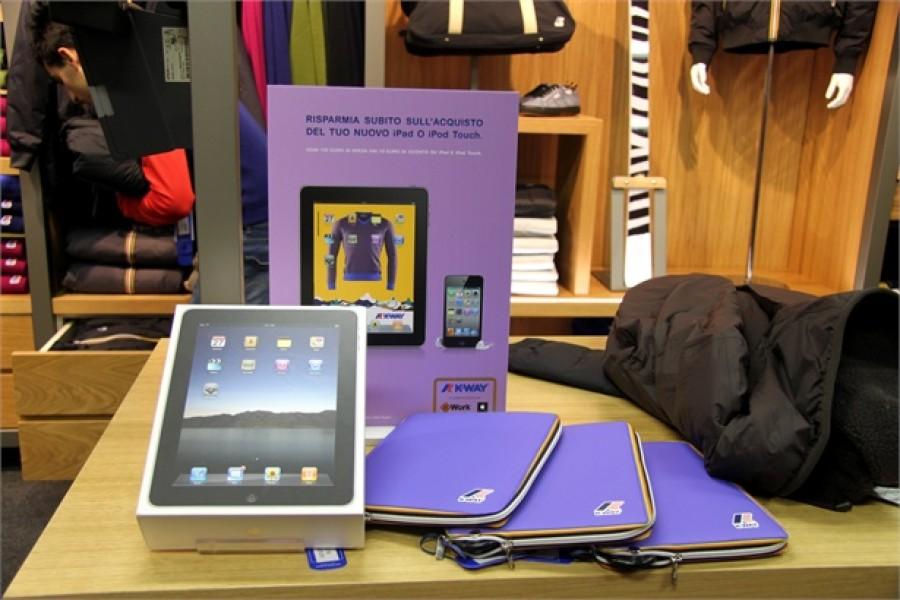 K-WAY Store: il negozio tecnologico di Torino