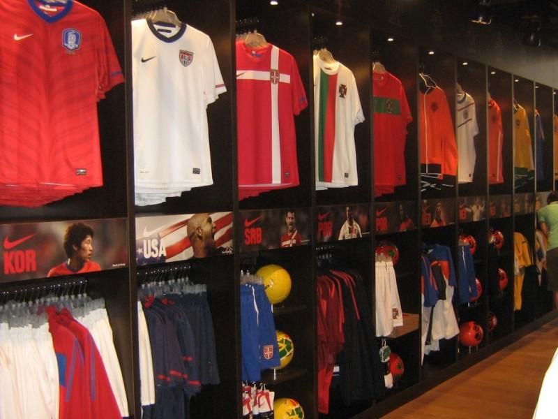 Nikefootball Store, un temporary per gli appassionati di calcio