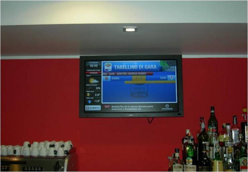 Digital Signage OverTv per un bar a Varese