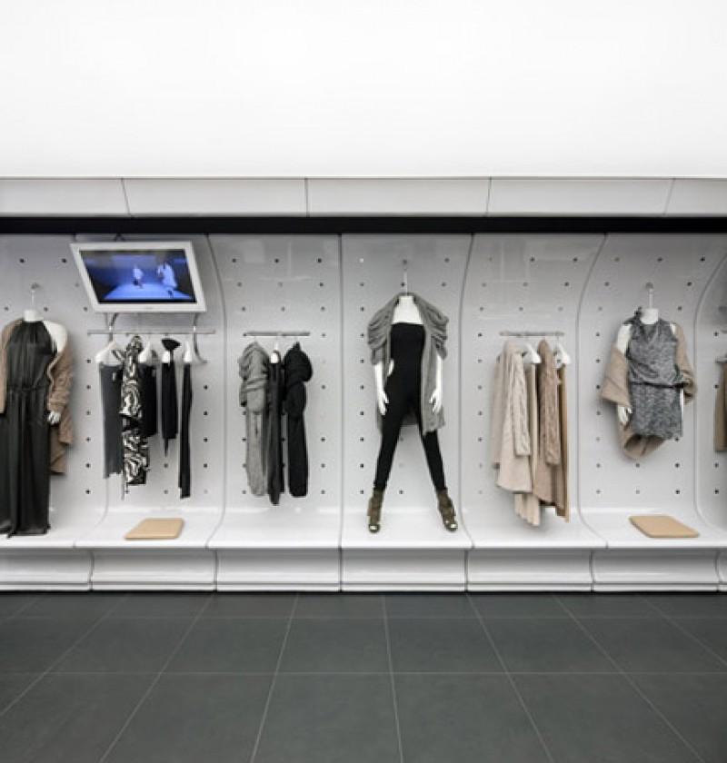 Il nuovo store di Stefanel a Francoforte