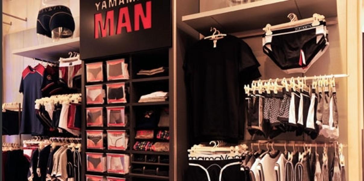 Nuovo concept per lo store Yamamay di Roma